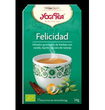 Yogi Tea Felicidad  Yogi Tea 17 bolsitas infusión
