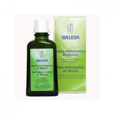 Aceite de Abedul para la celulitis  Weleda  100 ml