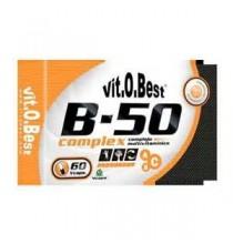 B - 50  Complex Vit. O. Best  60 capsulas vegetales