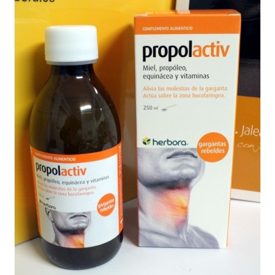 OFERTA (Pack de 3 unidades) Propolactiv jarabe Herbora 250 ml.