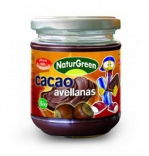 Crema de avellanas con cacao Bio  Naturgreen  200g