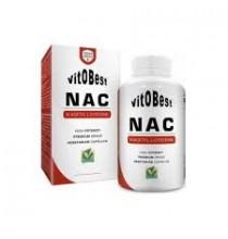 NAC ( N- ACETYI  L-CYSTEINE) Vitobest 100 cápsulas vegetarianas
