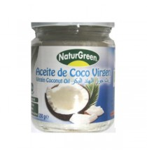Aceite de coco virgen  Extra Bio  Naturgreen 400 g