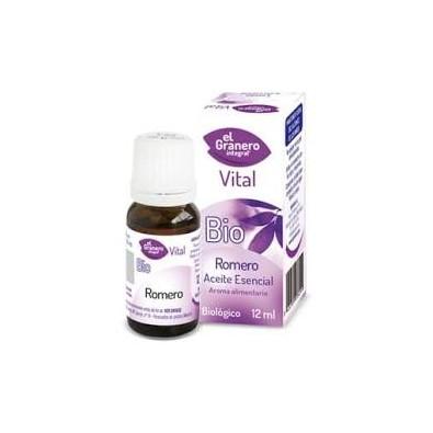 Aceite esencial de Romero bio EL GRANERO INTEGRAL 12 ML