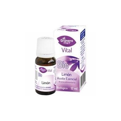 Aceite esencial de Limón bio El granero Integral 12 ml