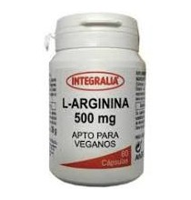 L- Arginina 500 mg Integralia  60 cápsulas