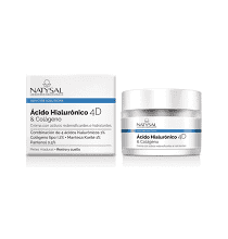 Crema Acido Hialurónico 4D & Colágeno  Natysal 50 ml.