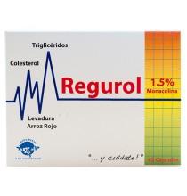 Regurol  1,5% monacolina Espadiet  45 capsulas