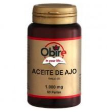 Aceite de ajo  Obire  60 perlas 100 mg