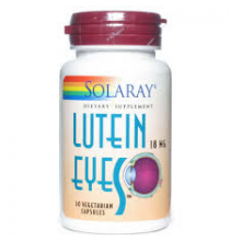 Lutein eyes 6 mg  Solaray  30 cápsulas