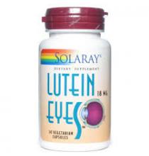 Lutein eyes 6 mg  Solaray  30 cápsulas