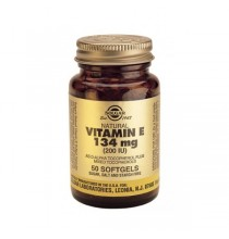 Vitamina E 134 mg (200 IU)  Solgar 50 cápsulas blandas