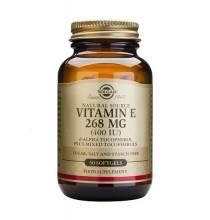 Vitamina E 268 mg ( 400 IU) Solgar 50 cápsulas blandas