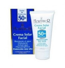 Crema solar facial factor 50+ Fleurymer  80 ml