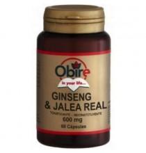 Ginseng & jalea real  Obire  60 cap.