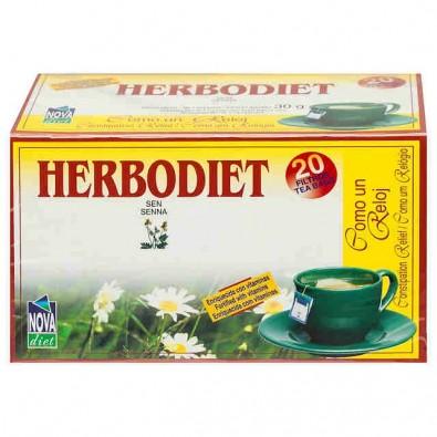 Herbodiet como un reloj Nova diet 20 filtros