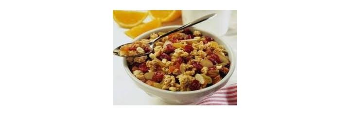 Cereales para desayuno y merienda